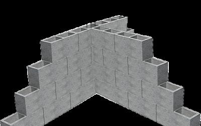 Cálculo para construir parede / muro de bloco de concreto (e tijolo também!)