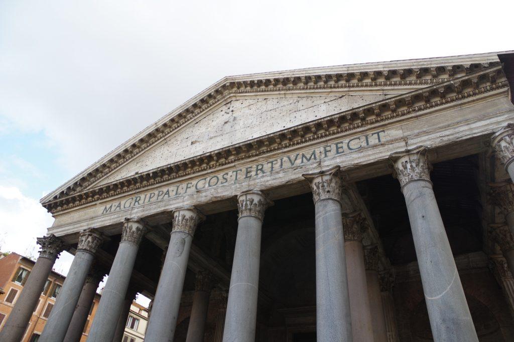 concreto na roma antiga